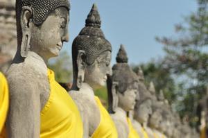 Ayutthaya i Lopburi, Tajlandia - 01.2011