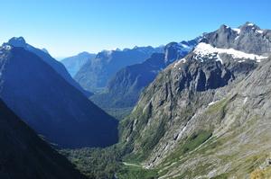 Fiordland, Wyspa Południowa, Nowa Zelandia - 01.2012