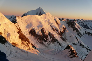 Polscy alpiniści na Mt Cook, Nowa Zelandia