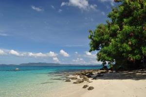 Island hopping, Palawan, Filipiny