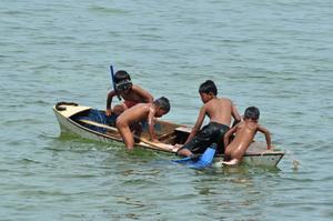 Pulau Derawan, Borneo, Indonezja - 05.2011