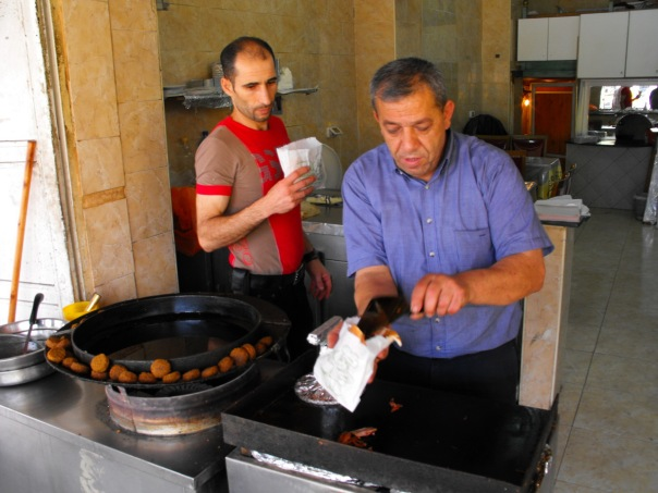Falafel w Palestynie