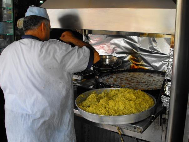 Hummus i falafel w Palestynie