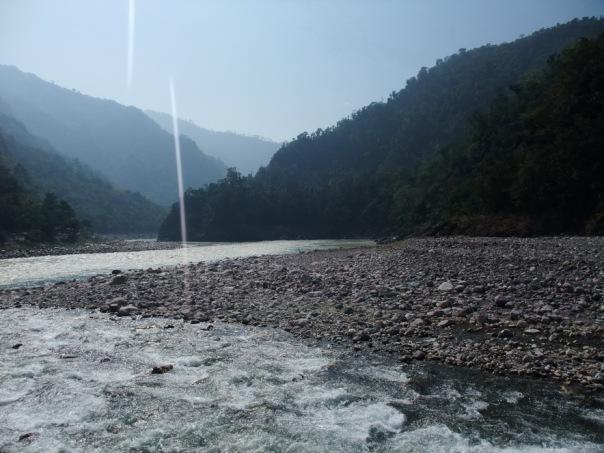Ganges w górnym biegu