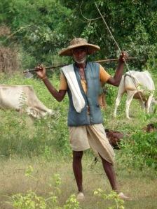 Pasterz przy pracy