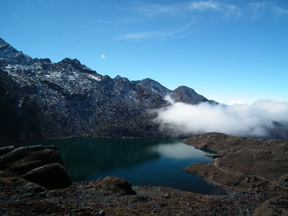 jezioro Sudhya na szlaku