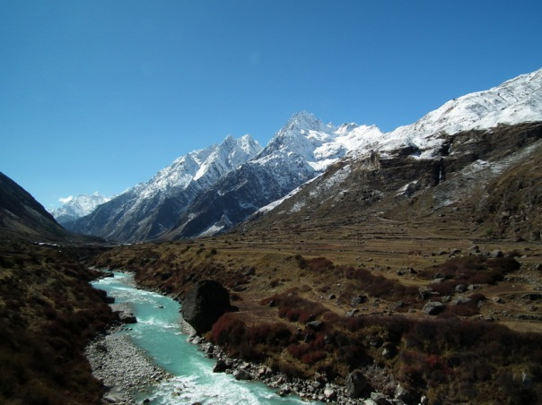 Hinduskie Himalaje w Badrinath