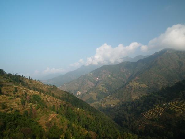 treking w dolinie