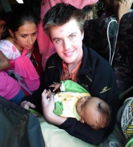 w nepalskim autobusie