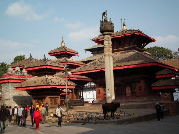 Świątynia w Katmandu