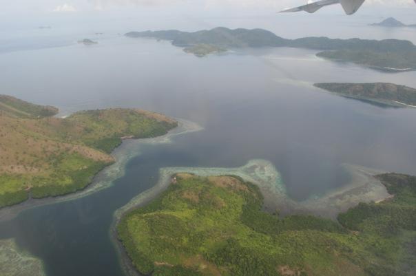 Okoliczne wyspy z lotu ptaka