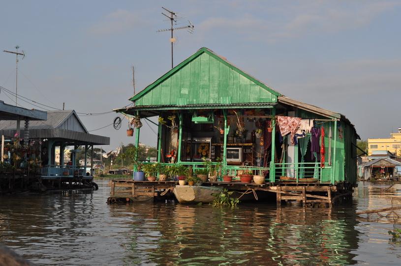 pływająca wioska