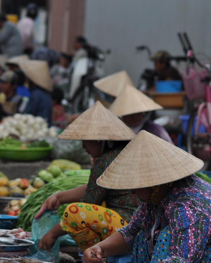 rynek w Chau Doc