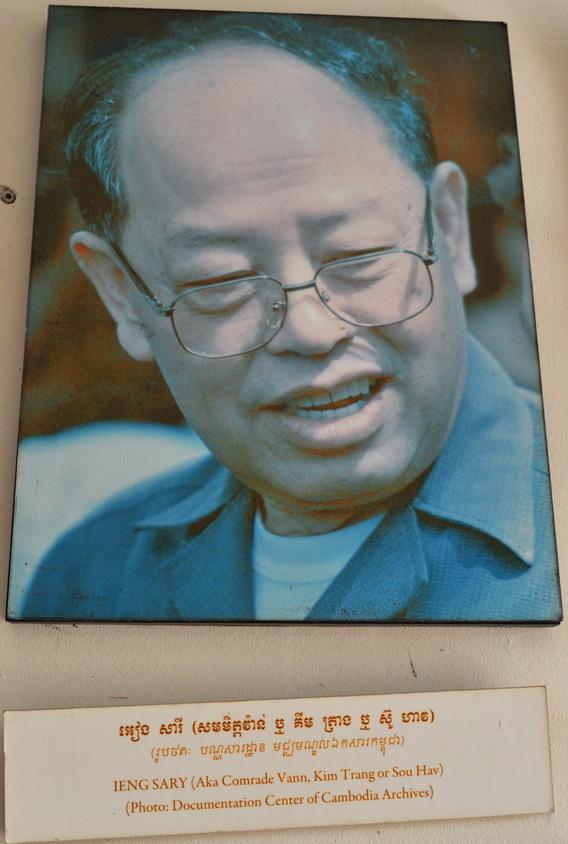 Ieng Sary - jeden z przywódców Czerwonych Khmerów został aresztowany w 2007 r. Jego proces właśnie trwa.