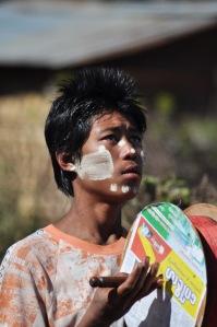 Puszczanie latawców to w Birmie niemal sport narodowy