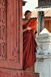 W Birmie żyje ponad 400 tys. buddyjskich mnichów. I to widać. W żadnym innym kraju nie mieliśmy tyle kontaktu z mnichami co w Birmie