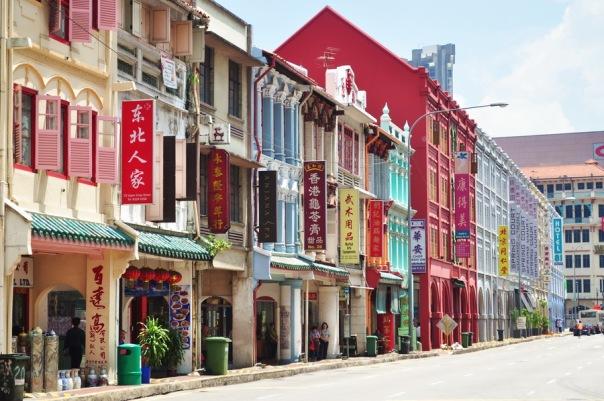 W Singapurze nawet Chinatown świeci czystością. Niestety również całkowitym brakiem ducha.