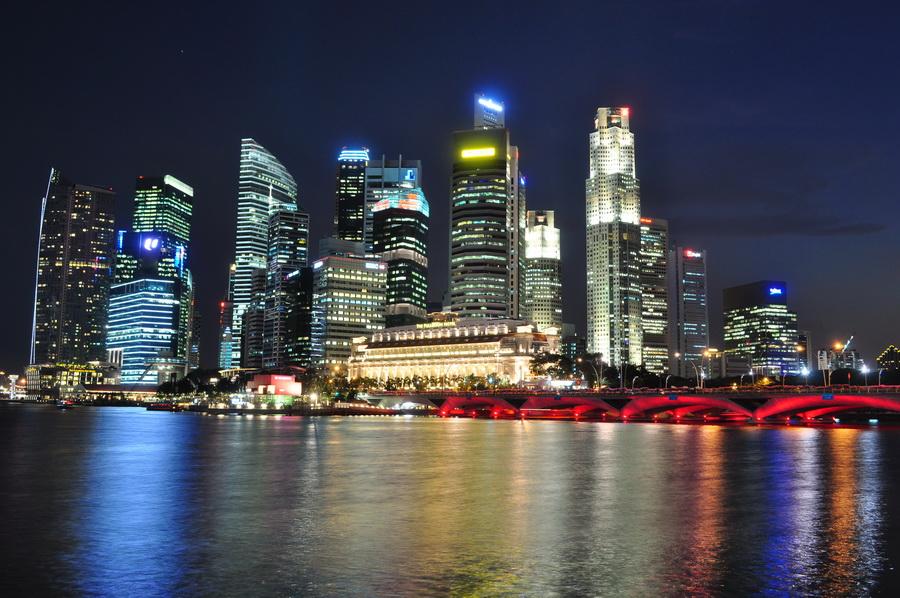 Marina Bay - finansowe centrum Singapuru