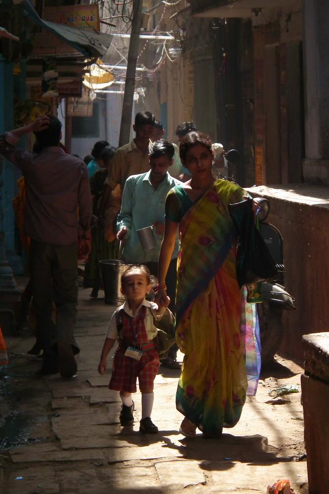 Uliczki Varanasi