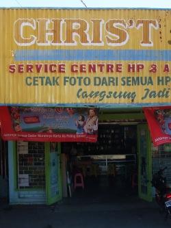 Usługi Chrystusowe - naprawa komórek (Celebes, Indonezja)