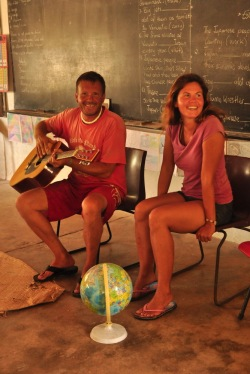 Polsko-amerykańska lekcja na Epi na Vanuatu