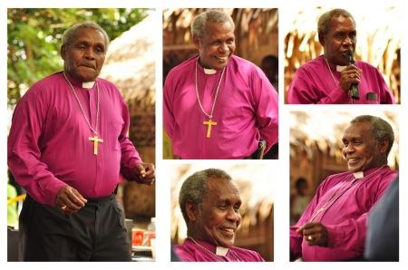 Względnie młody Kościół Melanezji utworzony na Vanuatu to jedyne wyznanie próbujące łączyć tradycyjne wierzenia z nauką chrześcijańską. Tu akurat biskup wycina hołubce na uroczystościach wyświęcania księdza na wyspie Vanua Lava.