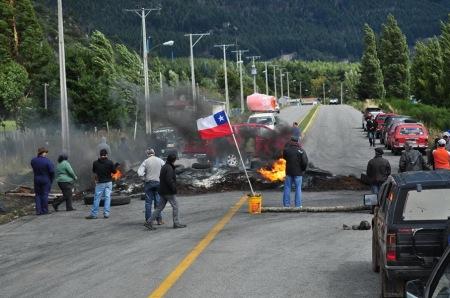 Chilijska Samoobrona w akcji