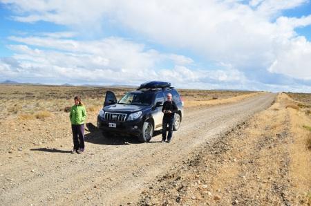 Patagonia 4x4 na pełnym wypasie