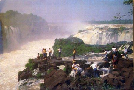 Wodospady Saltos del Guairá - jeszcze 30 lat temu bezkonkurencyjnie największe wodospady na świecie