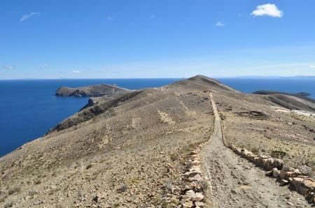 Główny szlak przez wyspę