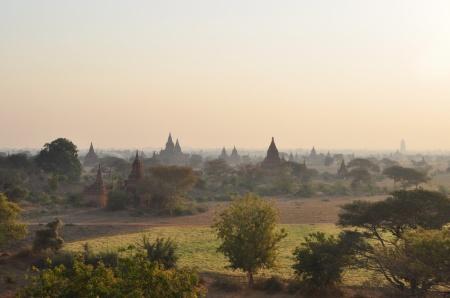 Znowu o piątej? (Bagan, Birma)