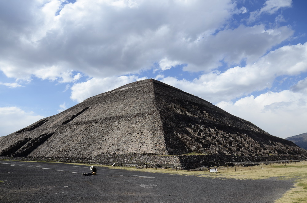 Piramida Słońca - Teotihuacán