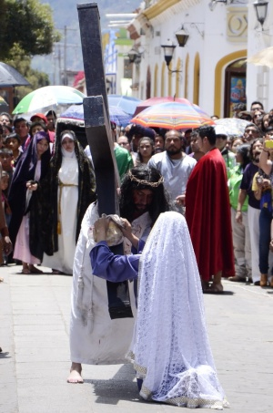 san cristobal de las casas crucifixion 1 mexico vagabundos
